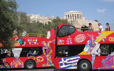 Athens Hop-On, Hop-Off Tour with optional Piraeus Tour