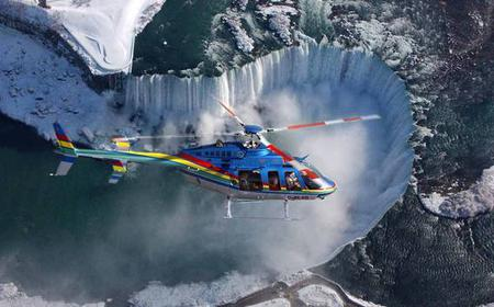 Niagara Falls Helicopter Flight, Boat Ride & Skylon Lunch