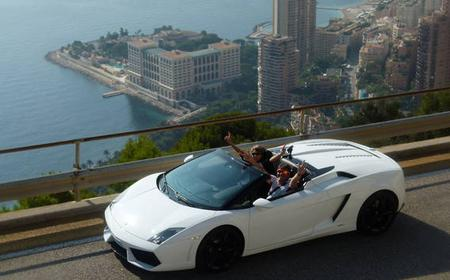 Lamborghini Driving Experience from Nice
