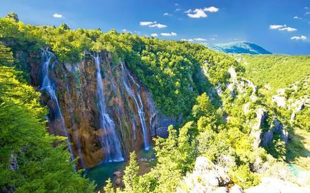 From Zagreb: Private Transfer to Split & Plitvice Lakes Tour