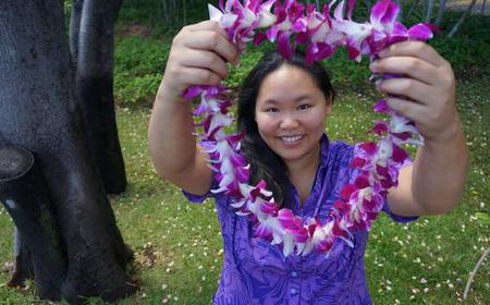 Traditional Lei Greeting at Honolulu Airport