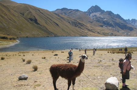 Querococh Lake and Chavin Ruins and from Huaraz