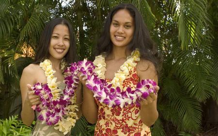 Honolulu Honeymoon Airport Lei Greeting