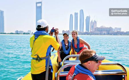 Abu Dhabi Guided Speedboat Sightseeing Tour