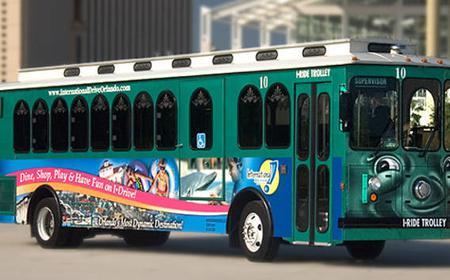 Orlando: International Drive Trolley Bus Pass 3-14 Days