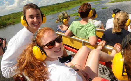Boggy Creek Airboat Rides: 30-Minute or 1-Hour Ride