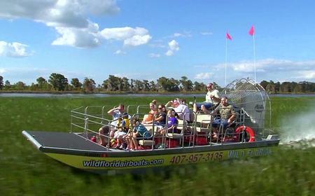 Florida Everglades Airboat Tour & Wildlife Park Entry