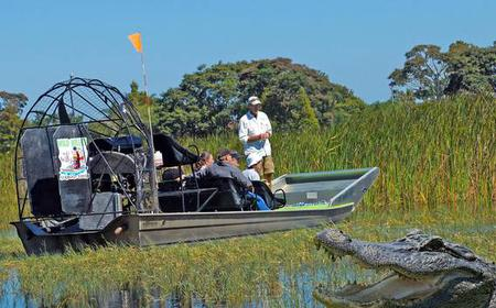 Wild Willy's 1-hour Airboat Adventure: Florida