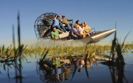 Wild Florida Airboat Safari Ride with Transportation
