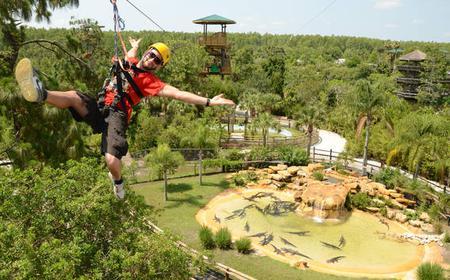 Orlando: Gatorland and Zip Line 4-Hour Adventure Tour