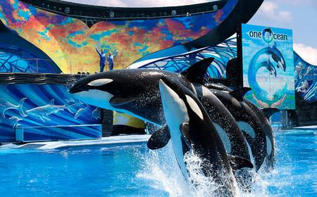SeaWorld Orlando Ticket with Busch Gardens and Aquatica