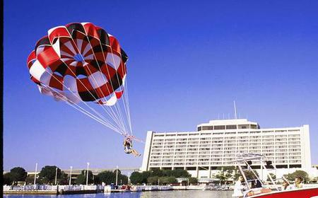 Single Deluxe Parasail Flight over Walt Disney World