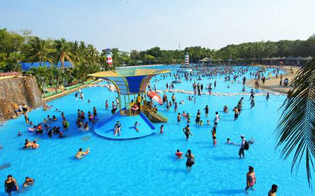 From Bangkok: Full-Day Private Siam Park City