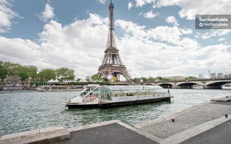 Paris: Batobus River Seine Shuttle Boat
