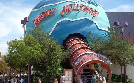 Planet Hollywood Disneyland Paris: Voucher Value 26 EUR
