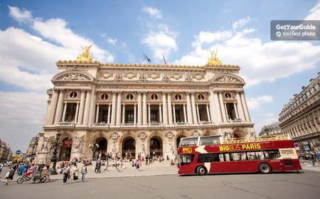 Paris Hop-on Hop-off Tour: 1 or 2-day Ticket