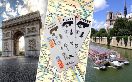 A Day in Paris: Arc de Triomphe and Seine River Cruise