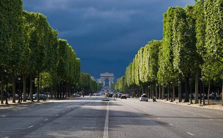Panoramic Paris Tour: Views from a Glass-Roofed Bus
