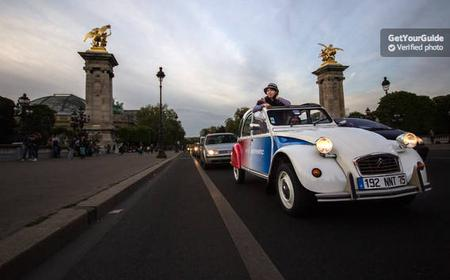 Paris: Illuminations in a Vintage Citroen 2CV