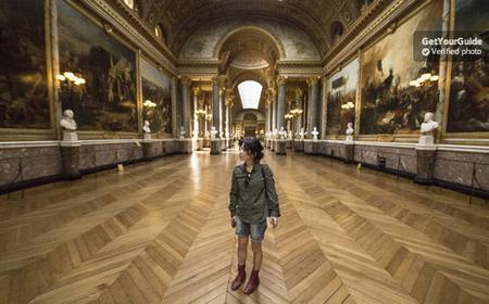 Versailles Palace Skip-the Line Audio Tour from Paris