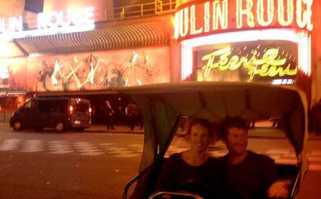 Paris by Night - Rickshaw RIde