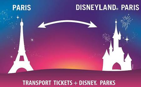 Disneyland® Paris Express Tickets for Train and Parks