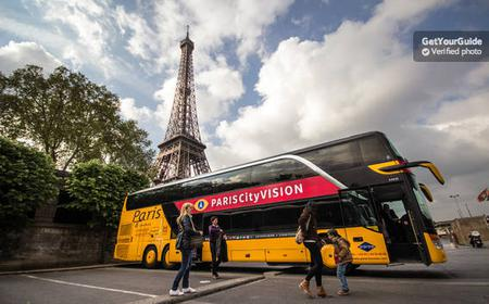 Paris Sightseeing Tour, Cruise & Lunch at the Eiffel Tower