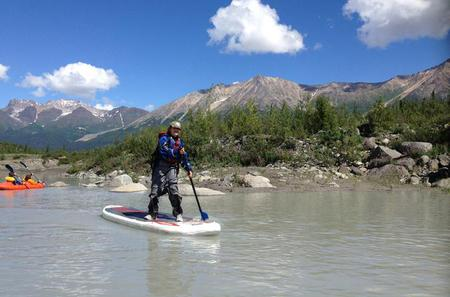 Kennicott Glacial Lake Stand Up Paddle Board Tour