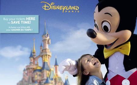 Paris Disneyland Multi-Day Entrance Ticket