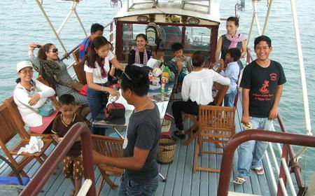 From Phnom Penh to Siem Reap with Cruise