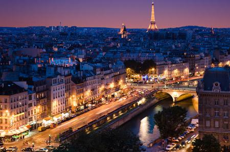 Eiffel Tower, Seine River Cruise and Paris Illuminations Night Tour