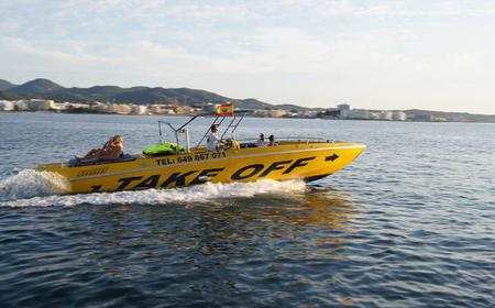 Ibiza 2-Hour Speed Boat Adventure with Jet Skis
