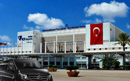 Lara & Kundu Private Transfer to Antalya Airport