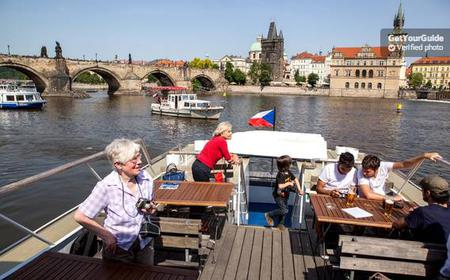 Prague Cruise: 1-Hour on the River Vltava
