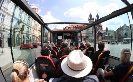 Prague: Historic City Center Bus Tour
