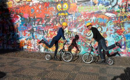 Prag 3-stündige Stadtrundkickbike
