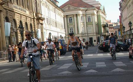 Prag: Klassische Stadtrundfahrt mit Fahrrad oder E-Bike
