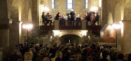 Prag: klassisches Konzert im Kloster St. Georg