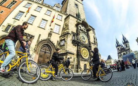 Prag: Stadtrundfahrt mit dem Fahrrad