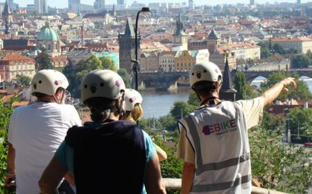 Electric Bike City Tour: Castle District and Prague Old Town