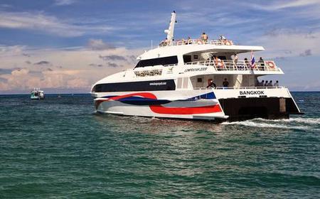Catamaran Transfer between Surat Thani Airport and Koh Samui