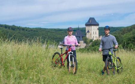 Karlstejn Castle Small Group Scenic Bike Tour