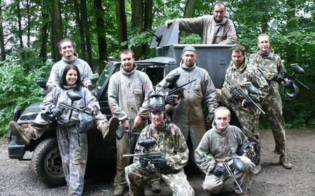 Prague: Paintball and Military Museum Combo