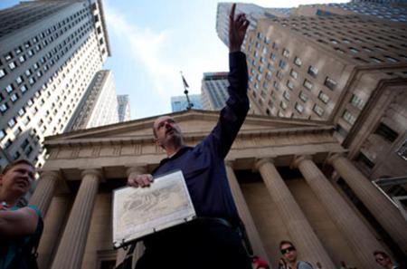 New York City and Wall Street Financial Crisis Tour