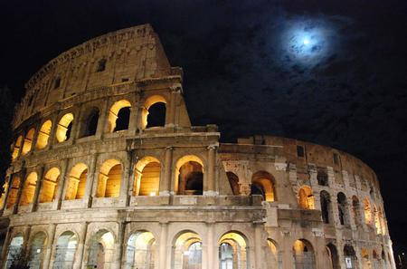 Rome by Night Tour Including Dinner