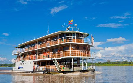 Amazon River Boat 4-Day Cruise from Quito