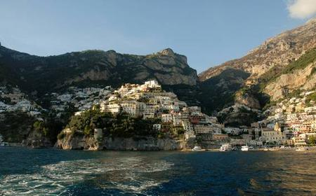 Full-Day Private Boat Tour: Positano and Amalfi Coast