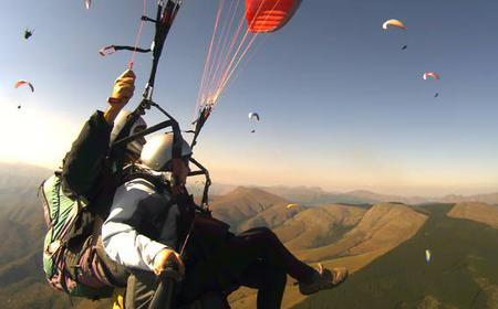 Tandem Paraglide Full-Day Experience from Rome