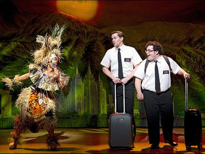 The Book of Mormon on Broadway