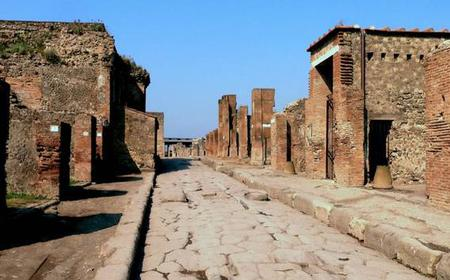 Ruins of Pompeii and the Amalfi Coast: Full-Day Tour